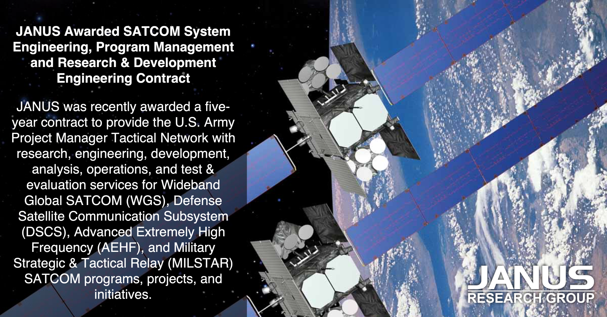 SATCOM Picture | JANUS Research Group